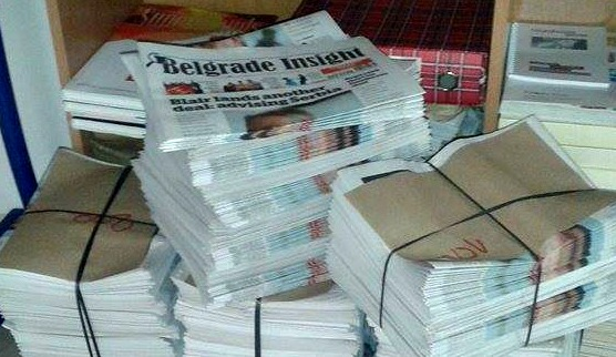 Belgrade Insight Kicked Out of Distribution Points