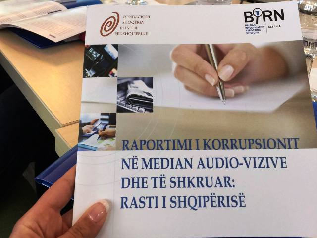 Reporting Corruption on Broadcast and Print Media: The Case of Albania