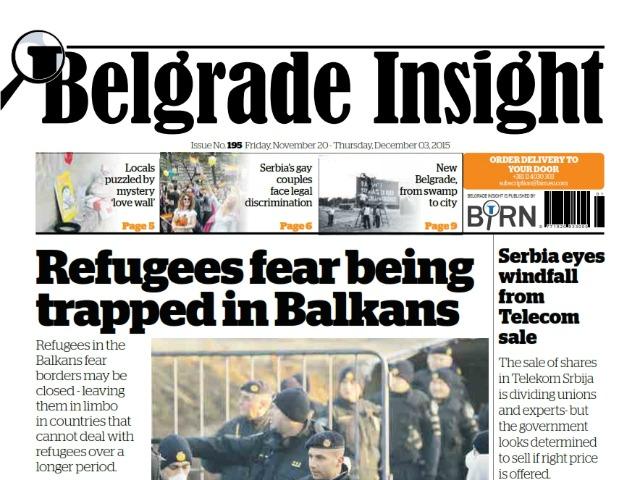 Belgrade Insight to publish 200th Issue
