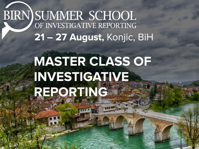 Pulitzer Winner Hosts Sessions at BIRN Summer School