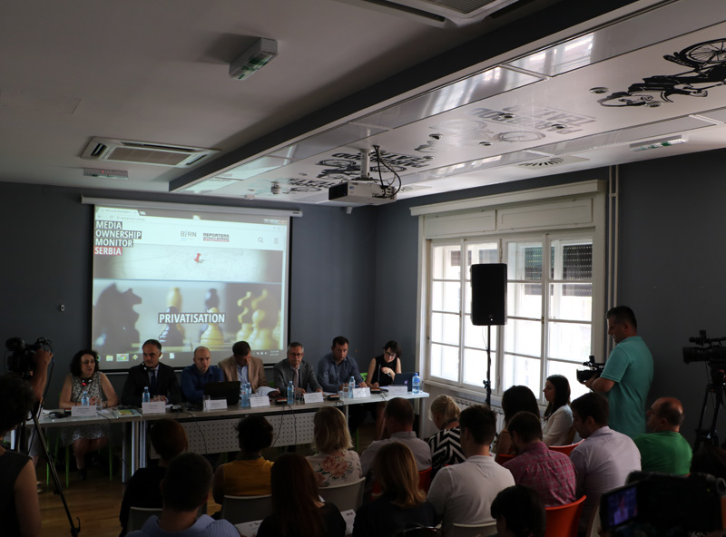 Four Broadcasters Dominate Serbian Media, BIRN Shows