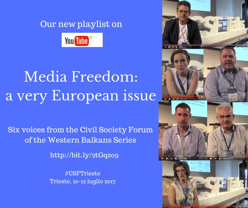 """There won't be European integration without free press"""