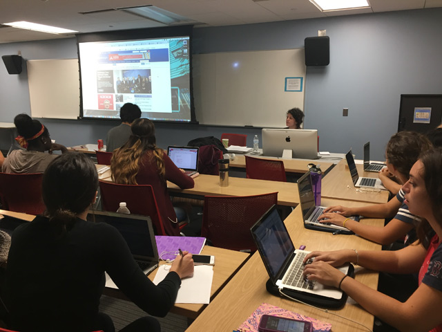 BIRN's Work Presented to Students in Washington