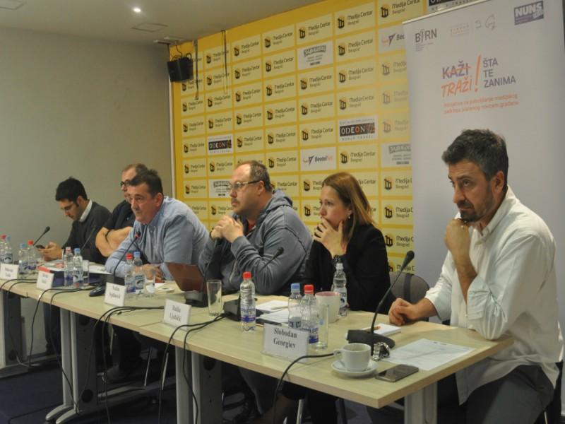 BIRN Serbia Hosts State Media Financing Debate