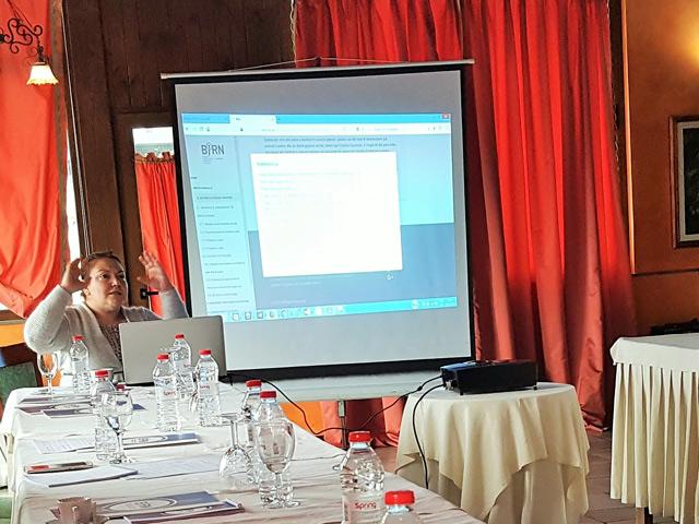 BIRN Albania Training Enhances Crime Reporting Skills