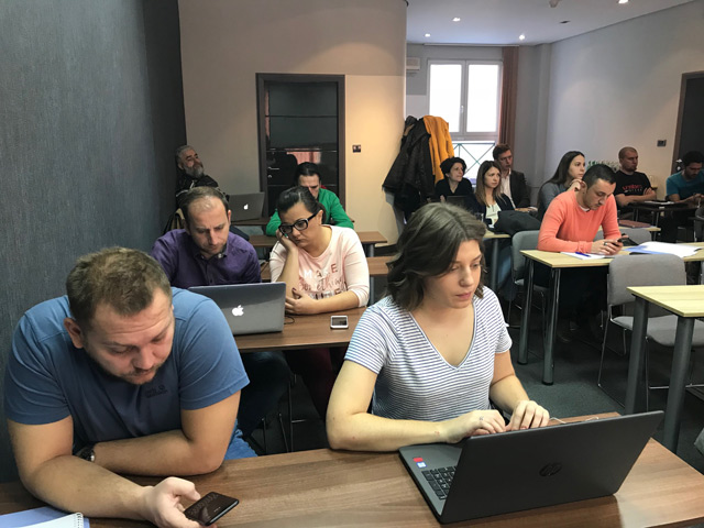 Balkan Insight Holds Digital Media Training Course