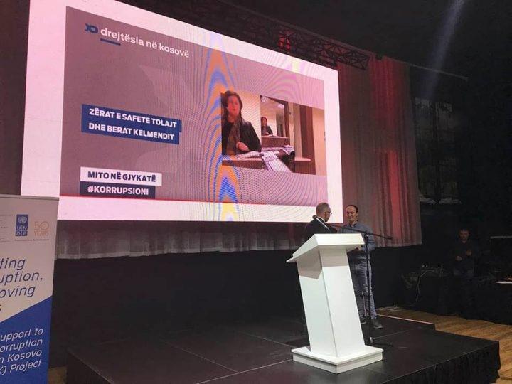 "BIRN Kosovo's Justice in Kosovo Show Wins ""Best Anti-Corruption Story"" Award"
