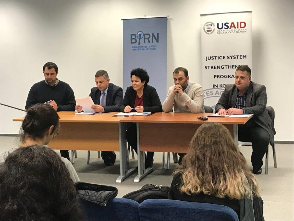 BIRN Kosovo Organizes Discussions with Law Students at Prishtina Basic Court