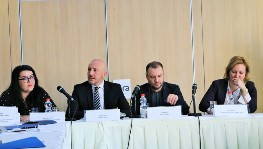 BIRN Hosts Panel Discussion on Media Reporting of Corruption in Serbia
