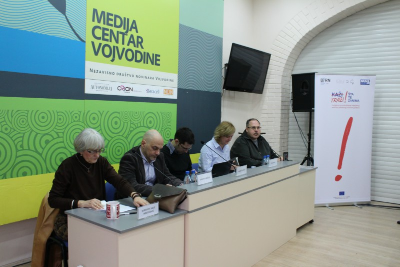 BIRN Serbia Holds Media Content Financing Debate