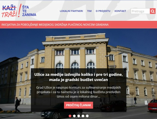 BIRN Serbia Launches 'Info-Hub' to Aid Civil Society
