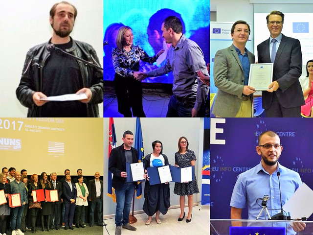 Eleven Awards Won by BIRN Journalists in 2017