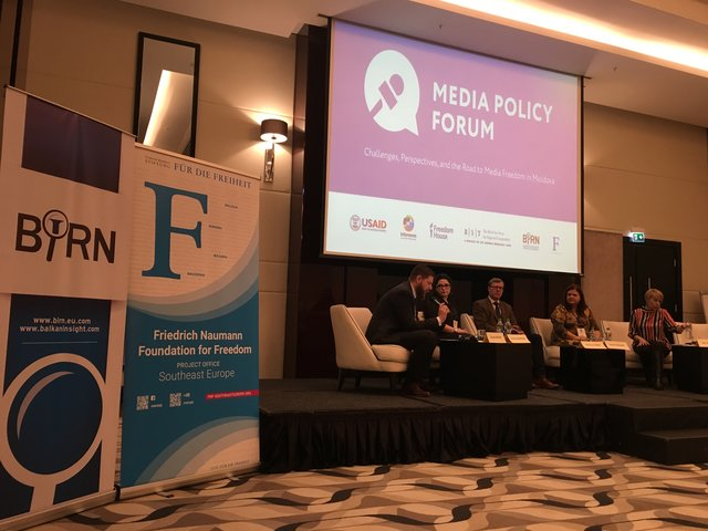 BIRN Participates in Media Policy Forum in Moldova