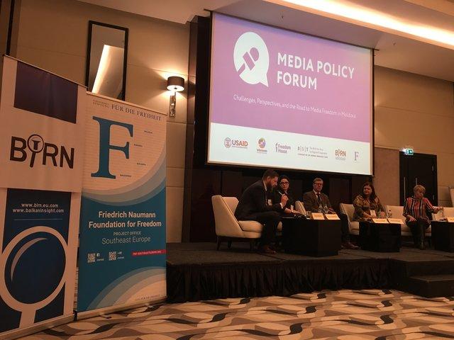 BIRN Participates in Media Policy Forum in Moldova