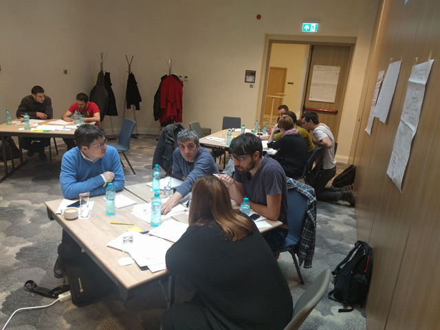 BIRN Holds Project Management Training in Romania