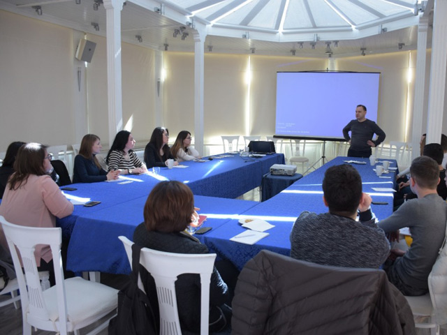 BIRN Albania Holds Training on Media Advocacy