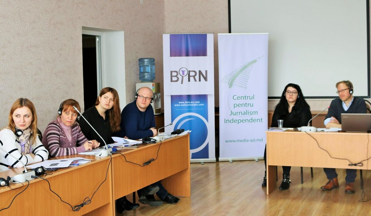 Innovative Journalism Techniques Training Held in Moldova