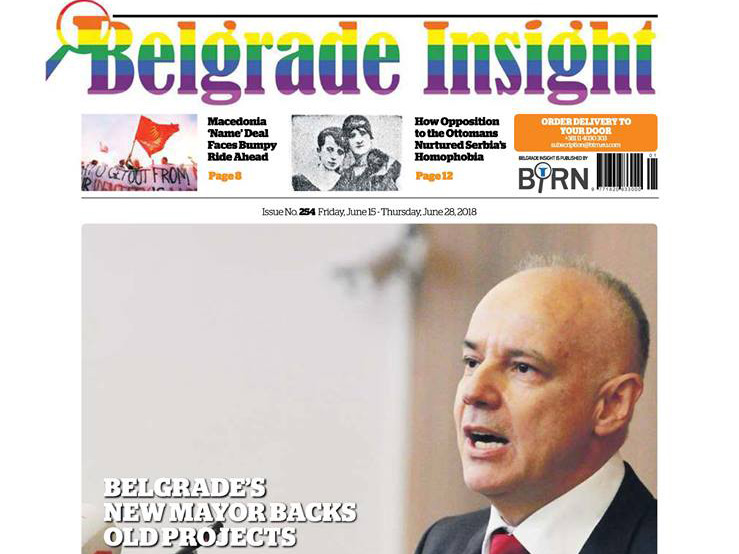 Belgrade Insight Publishes Special Pride Month Issue