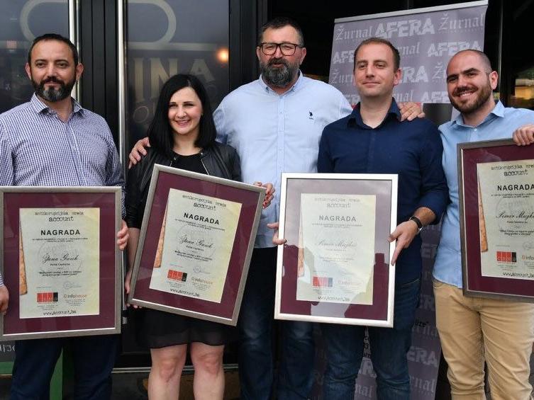 BIRN Bosnia Wins Award for Corruption Investigation