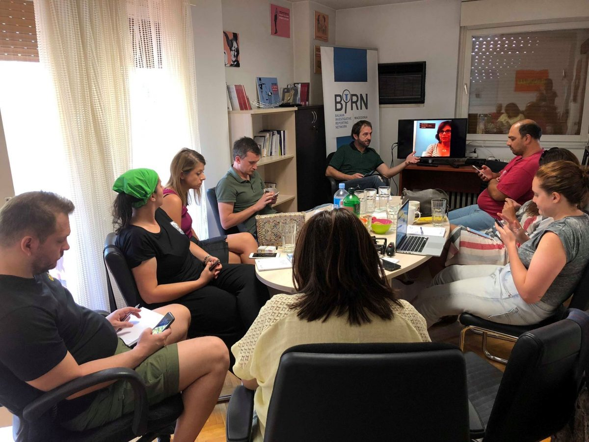 BIRN Journalists Trained in Mobile Video Journalism