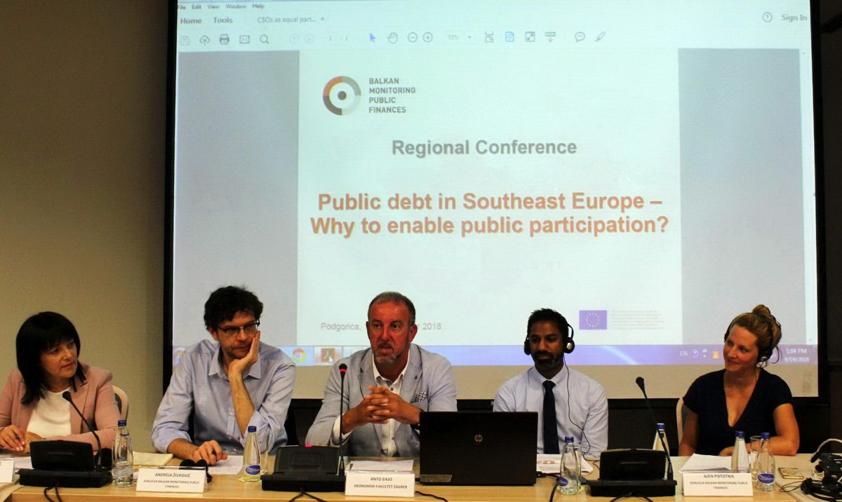 Study on Rising Public Debt in Western Balkans Launched