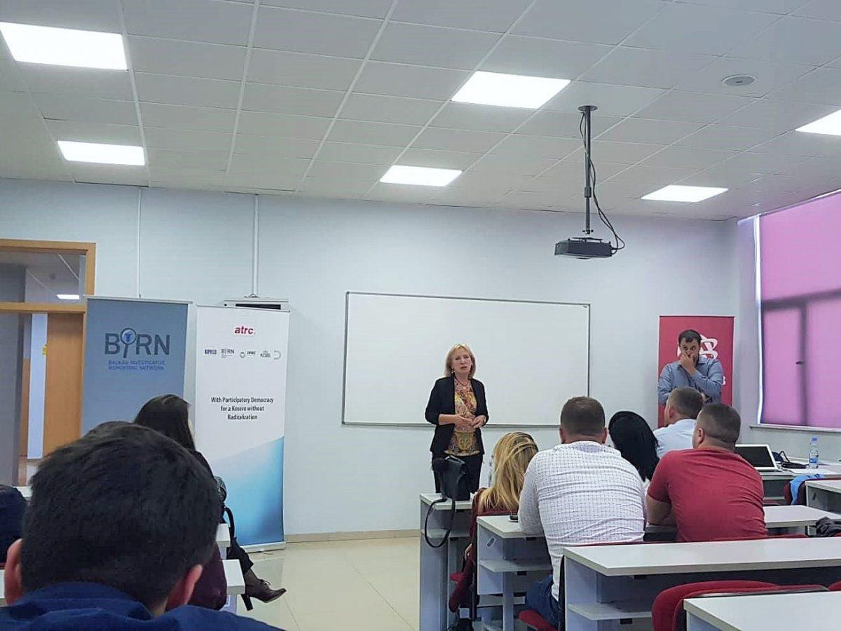 BIRN Kosovo Holds Prevention of Violent Extremism Training