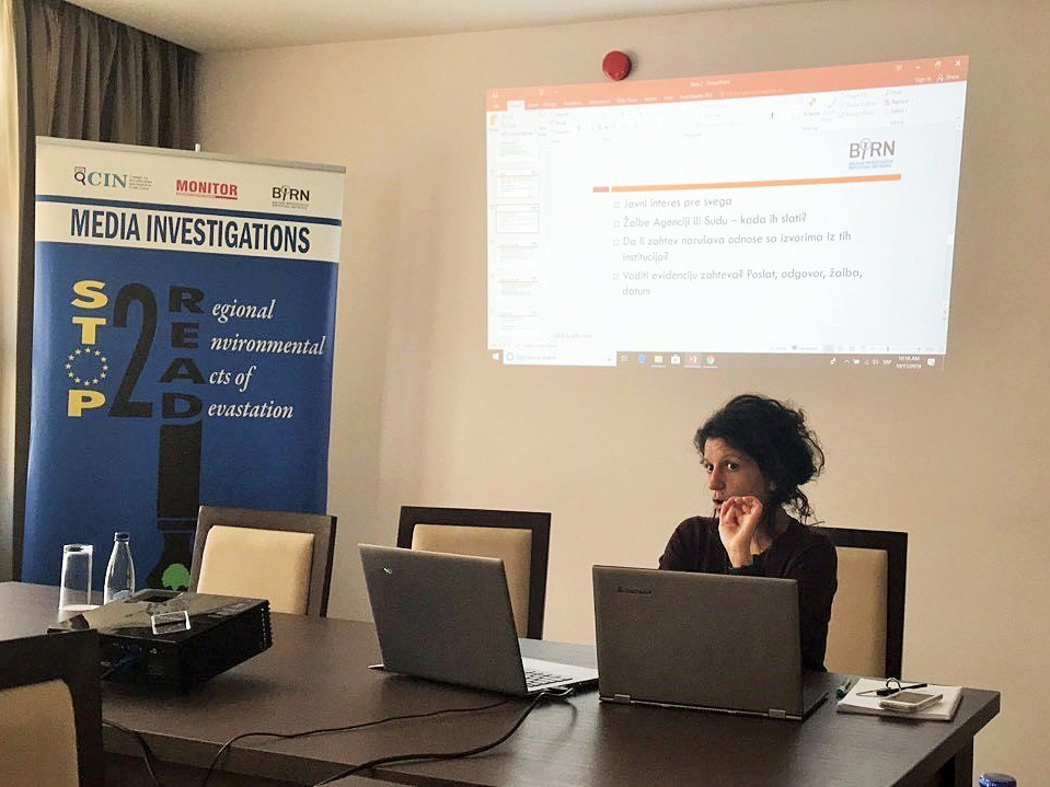 Journalists Trained for Data Journalism in Montenegro