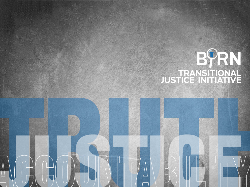 BIRN Publishes Transitional Justice Report