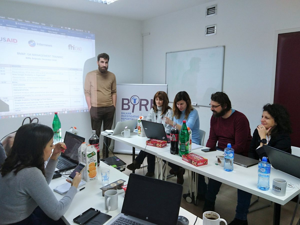 BIRN Staff Trained in Google Analytics Management