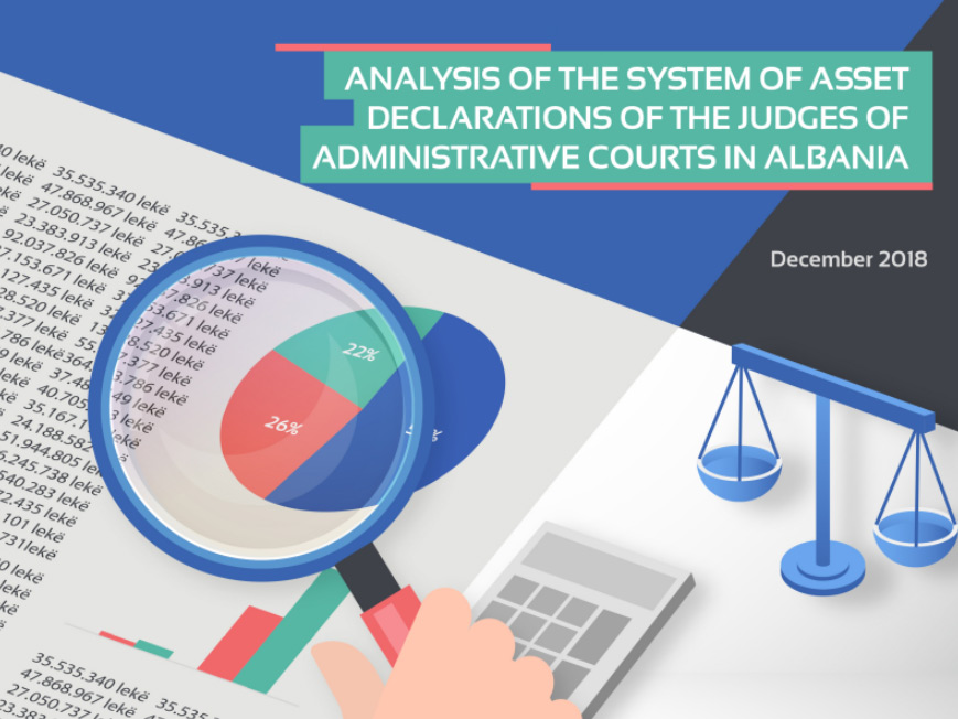 Report on Assets of Administrative Court Judges