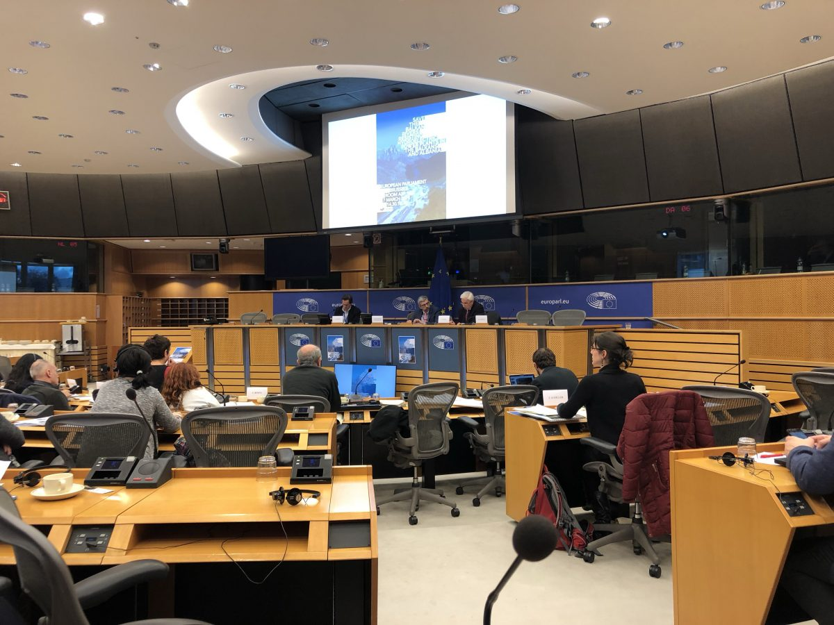 BIRN Albania Documentary Screened at European Parliament
