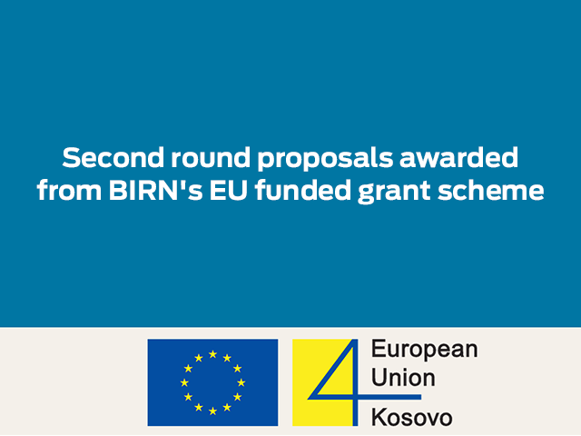 15 applicants benefit from BIRN's-EU funded grant scheme