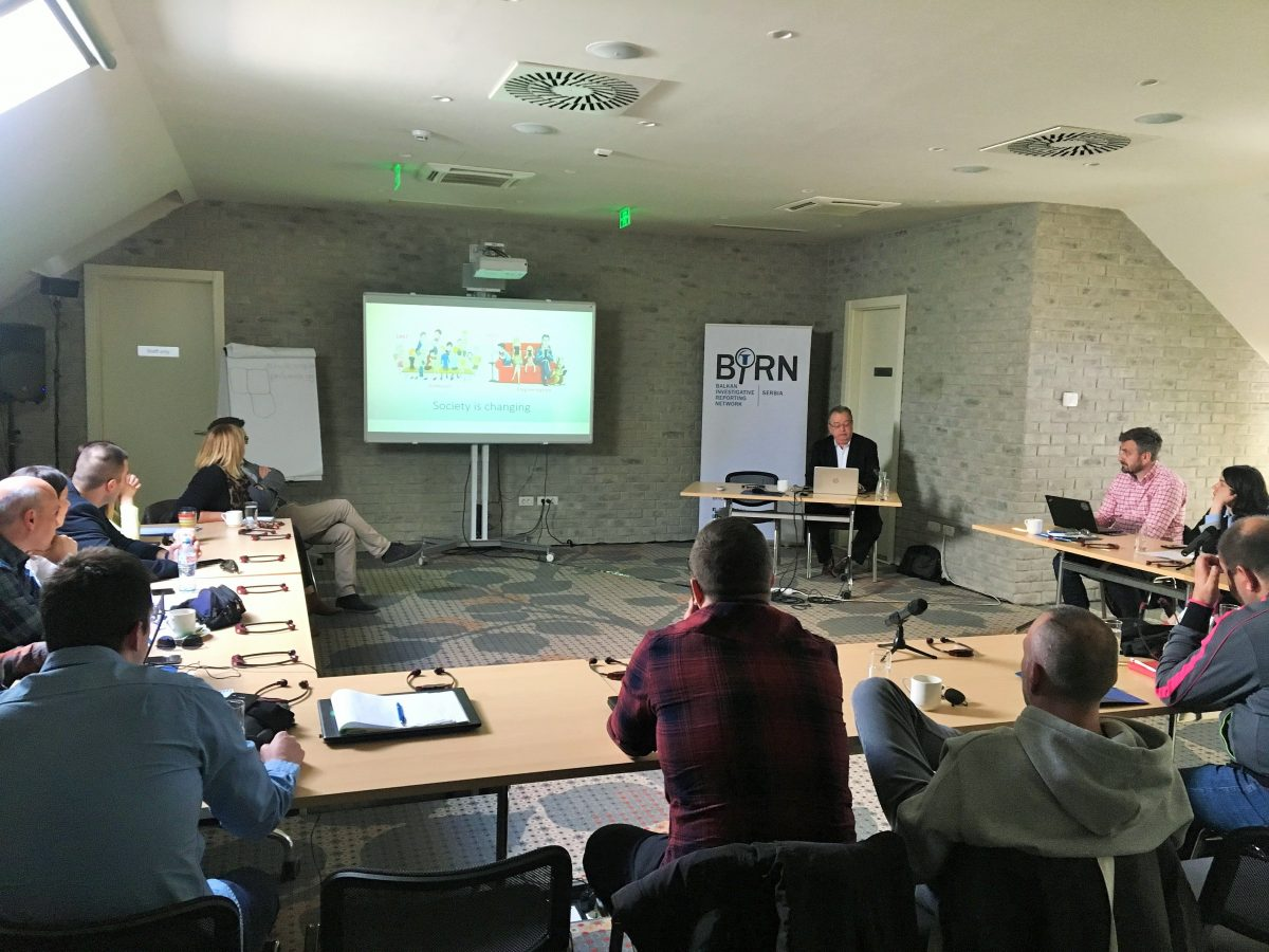 BIRN Serbia Holds Training for Online Journalists and Editors