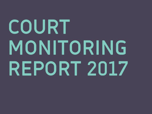 Court Monitoring Report 2017