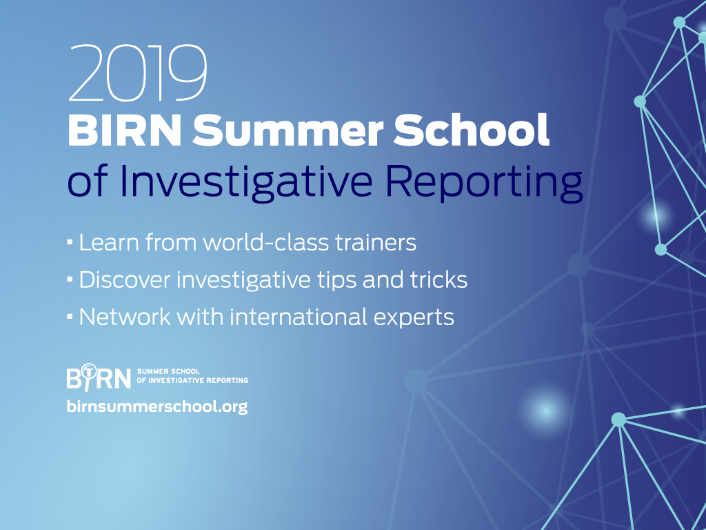 Herceg Novi to Host BIRN's Investigative Journalism School
