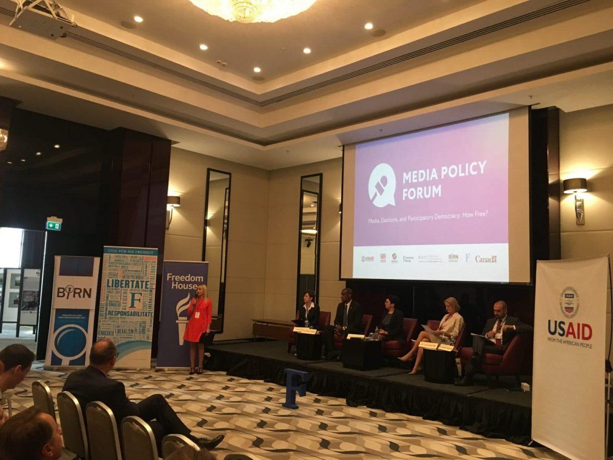 BIRN Co-Hosts Media Policy Forum in Moldova