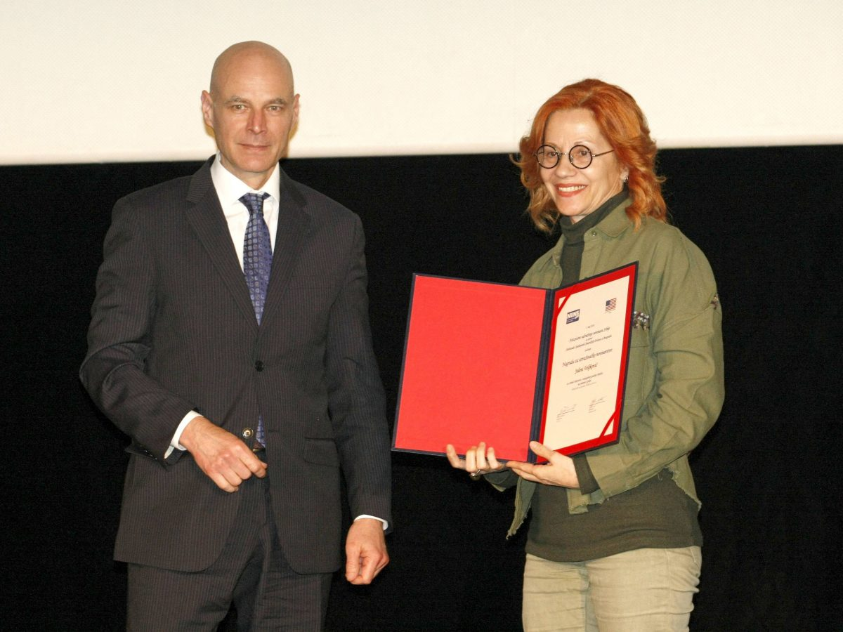 BIRN Serbia Wins Investigative Reporting Award