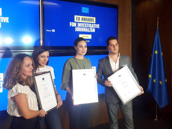 Winners of EU Awards in Albania Announced