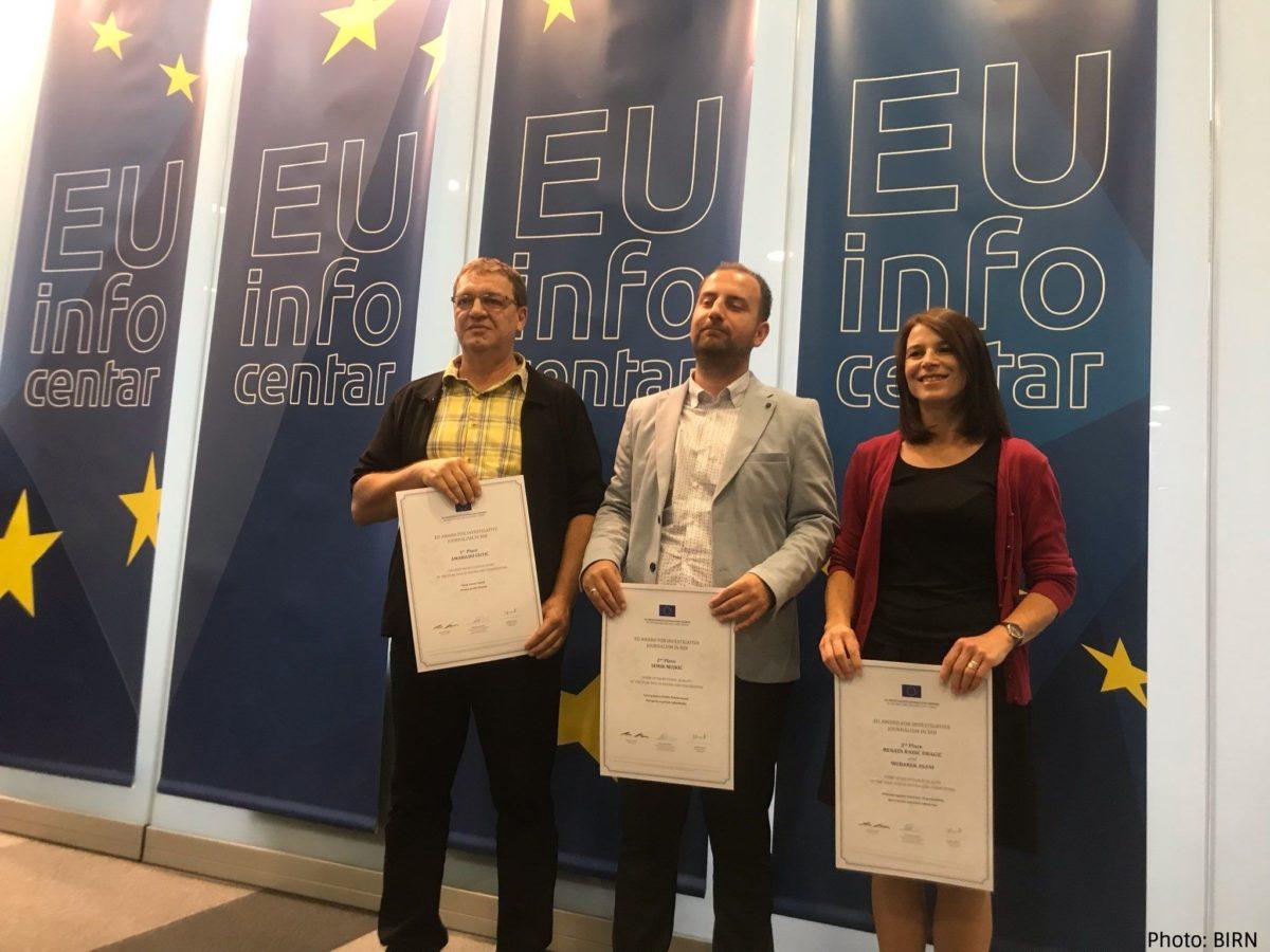 Winners of EU Investigative Awards in Bosnia and Herzegovina Announced