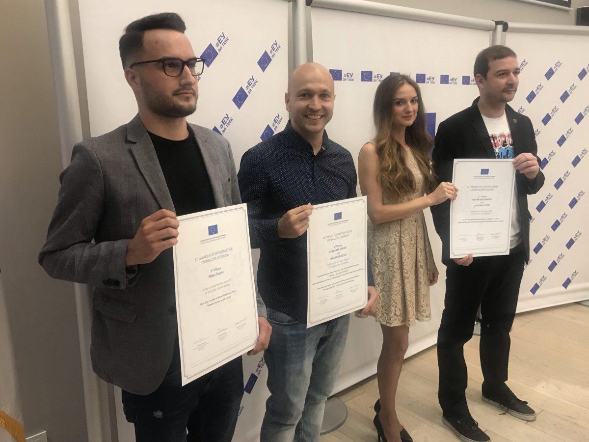 EU Investigative Journalism Award-Winners Named in Serbia