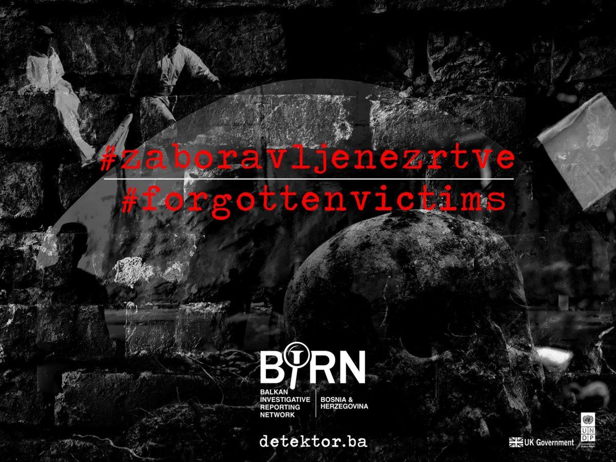 BIRN Bosnia Launches 'Forgotten Victims' Campaign