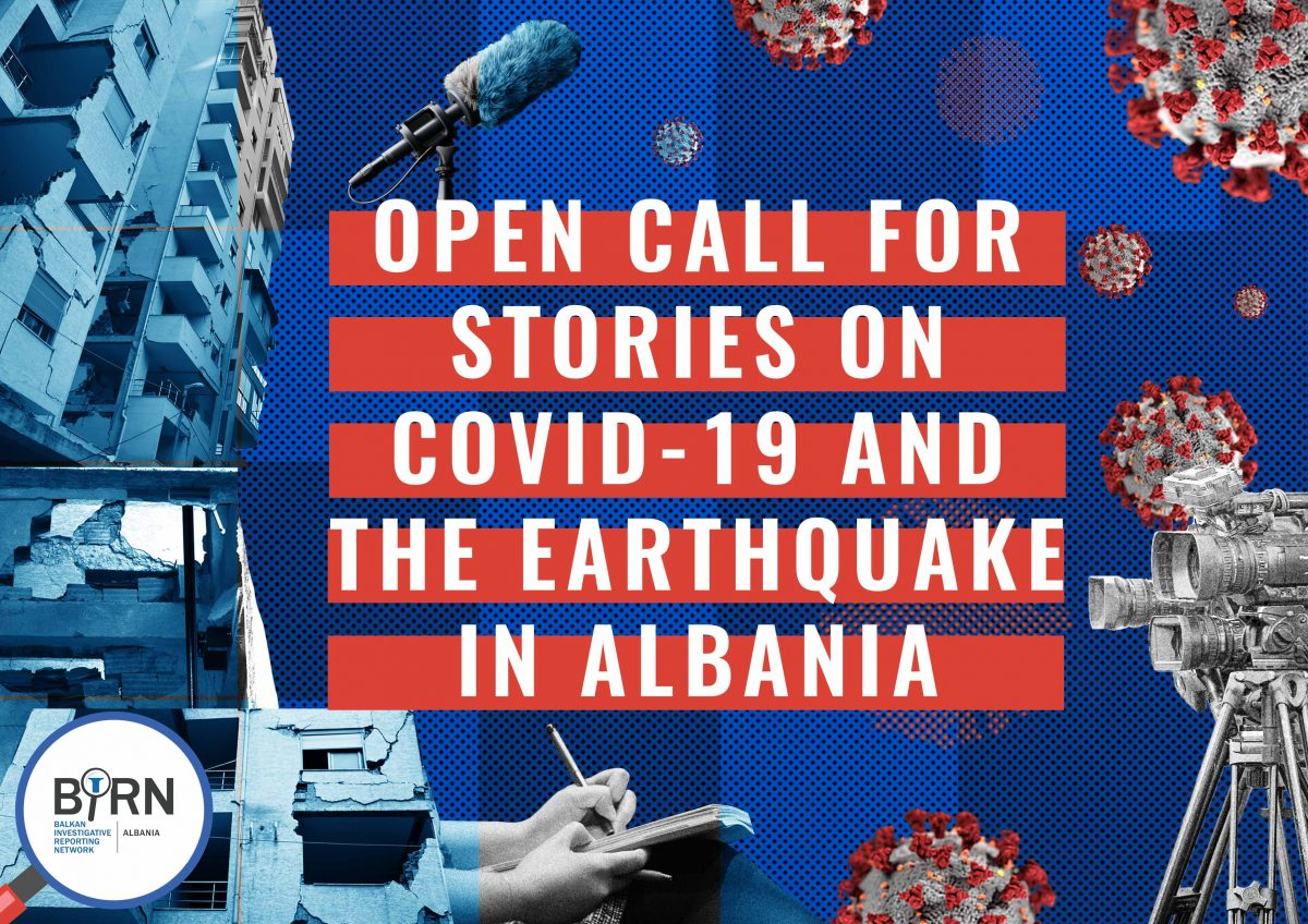 Albania: Call for Stories on COVID-19 and the Earthquake