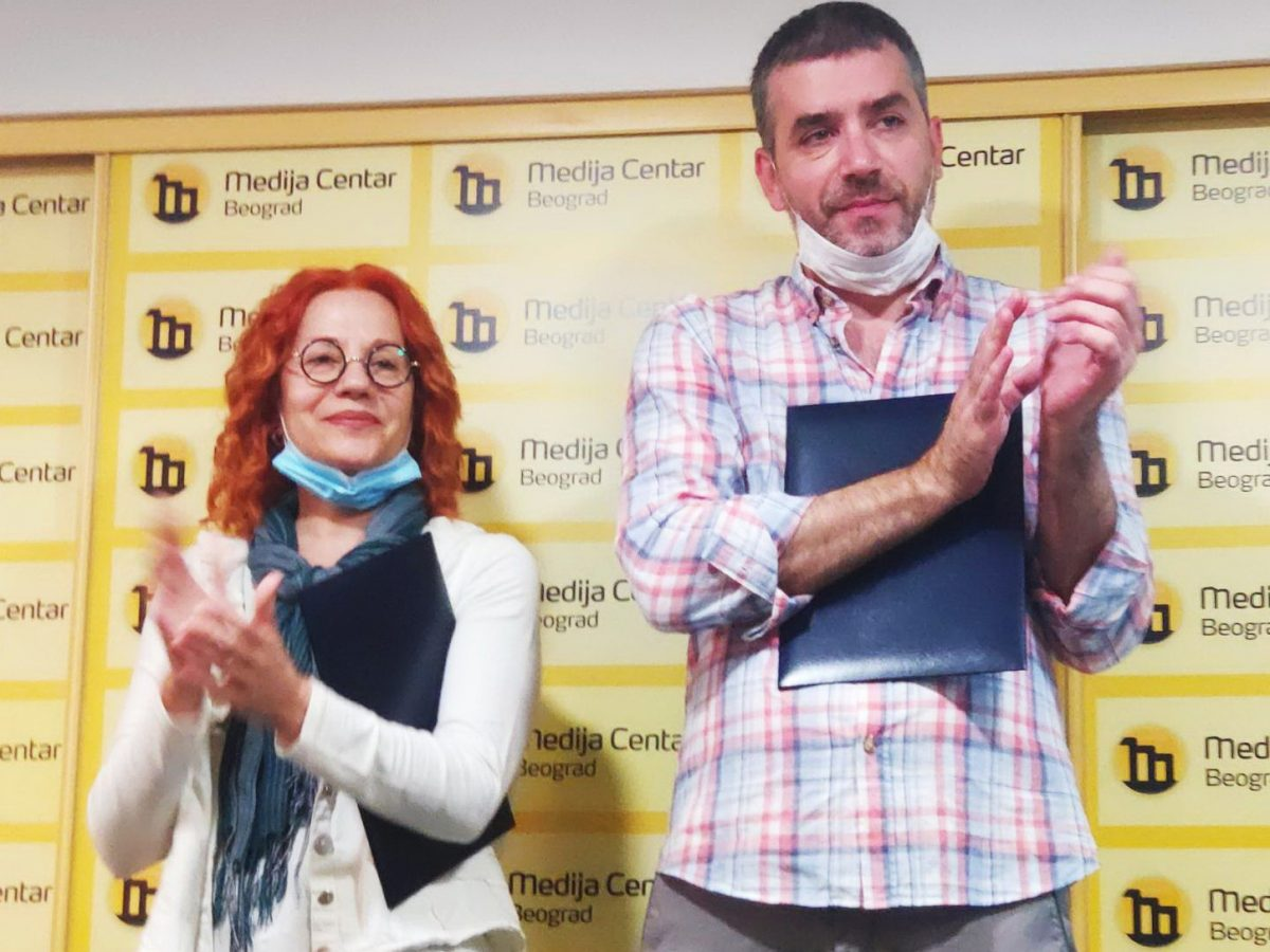 BIRN Journalists Win Serbian Prize for Investigative Journalism