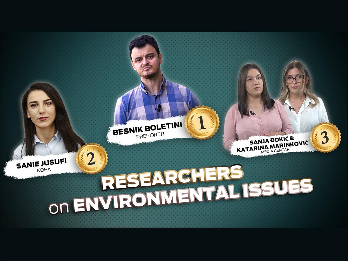 BIRN Kosovo Participates in Environmental Journalism Awards