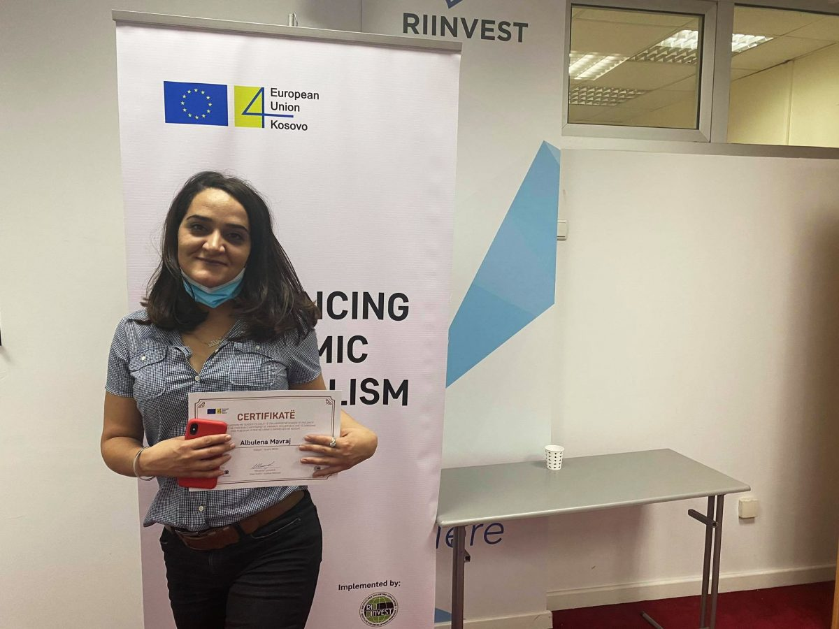 BIRN Grant Supports RIINVEST Economic Journalism Awards in Kosovo