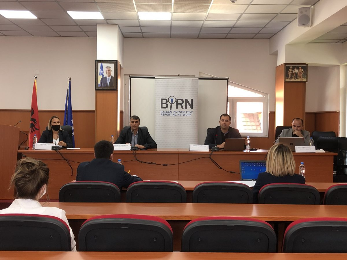 BIRN Kosovo Holds Conference on Pandemic's Impact on Municipality's Finances