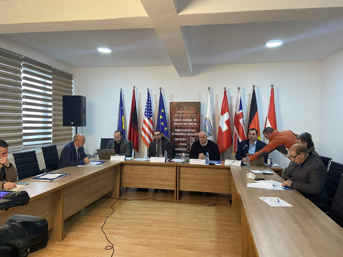 BIRN Kosovo Chairs Debate on Oversight of Spending in Viti/Vitina