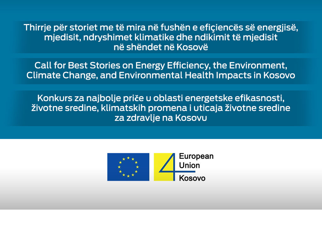 BIRN Kosovo Holds the Second Energy, Environment, Climate Change Competition