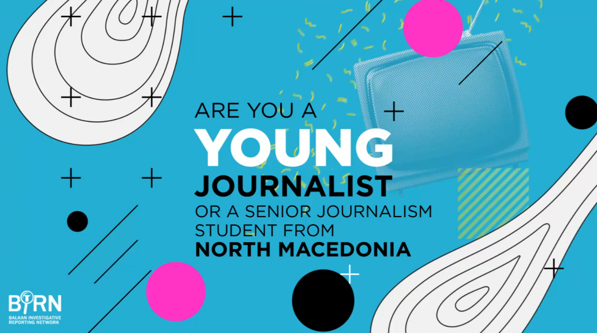 Deadline Extended for Applications for Traineeship Programme for Young Journalists from North Macedonia