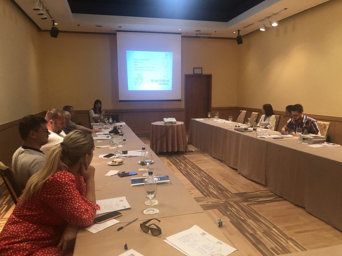 BIRN Albania Holds Training on Court and Crime Reporting